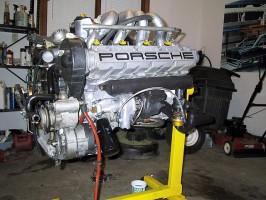 928-Engine-on-stand